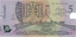 5 Dollars AUSTRALIE  1992 P.50a TTB