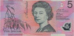 5 Dollars AUSTRALIE  1995 P.51a TB