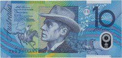 10 Dollars AUSTRALIE  1998 P.52b TTB+