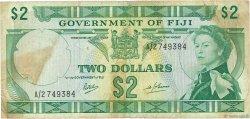 2 Dollars FIDJI  1969 P.060a TB