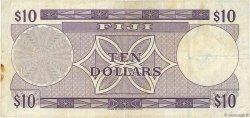 10 Dollars FIDJI  1974 P.074b TB+