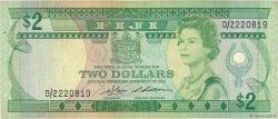 2 Dollars FIDJI  1983 P.082a TB+