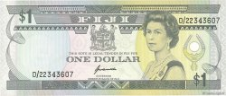 1 Dollar FIDJI  1993 P.089a TTB+