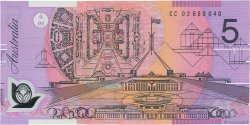 5 Dollars AUSTRALIE  2002 P.57a NEUF