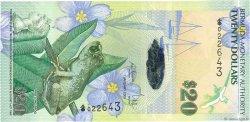 20 Dollars BERMUDES  2009 P.60a SPL