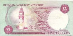 5 Dollars BERMUDES  1978 P.29a TTB