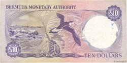 10 Dollars BERMUDES  1982 P.30b TB+