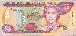 5 Dollars BERMUDES  2000 P.51a TB