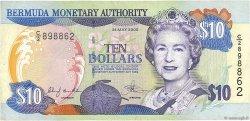 10 Dollars BERMUDES  2000 P.52a TTB