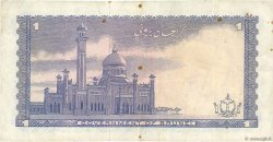 1 Ringgit - 1 Dollar BRUNEI  1967 P.01a TTB