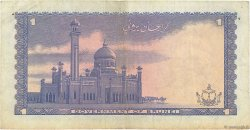 1 Ringgit - 1 Dollar BRUNEI  1972 P.06a TB+