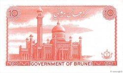 10 Ringgit - 10 Dollars BRUNEI  1983 P.08b pr.NEUF