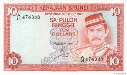 10 Ringgit - 10 Dollars BRUNEI  1983 P.08b NEUF