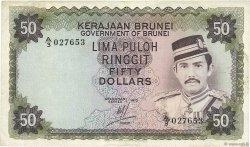 50 Ringgit - 50 Dollars BRUNEI  1973 P.09a pr.TTB