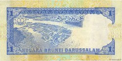 1 Ringgit - 1 Dollar BRUNEI  1989 P.13a TB