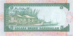 5 Ringgit - 5 Dollars BRUNEI  1989 P.14 NEUF