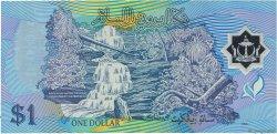 1 Ringgit - 1 Dollar BRUNEI  1996 P.22a TTB