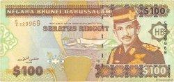 100 Ringgit - 100 Dollars BRUNEI  1996 P.26 TB