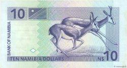 10 Namibia Dollars NAMIBIE  1993 P.01a TTB+