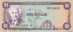 1 Dollar JAMAÏQUE  1984 P.64b SUP
