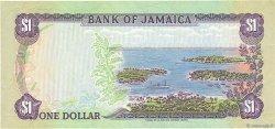 1 Dollar JAMAÏQUE  1987 P.68Ab TTB