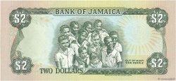 2 Dollars JAMAÏQUE  1987 P.69b SPL