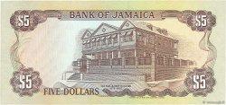 5 Dollars JAMAÏQUE  1991 P.70d NEUF
