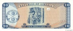 10 Dollars LIBERIA  1999 P.22 NEUF