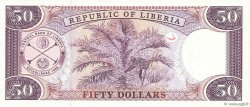 50 Dollars LIBERIA  1999 P.24 NEUF