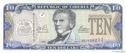 10 Dollars LIBERIA  2003 P.27a NEUF
