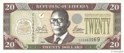 20 Dollars LIBERIA  2003 P.28a NEUF