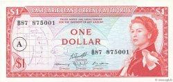 1 Dollar CARAÏBES  1965 P.13h SUP