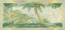 5 Dollars CARAÏBES  1988 P.22l2 B
