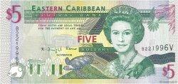 5 Dollars CARAÏBES  1994 P.31v NEUF