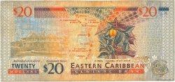 20 Dollars CARAÏBES  2000 P.39d B+