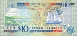10 Dollars CARAÏBES  2003 P.43d TTB
