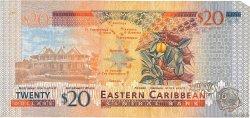 20 Dollars CARAÏBES  2003 P.44g TB