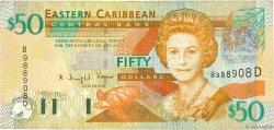 50 Dollars CARAÏBES  2003 P.45d TB