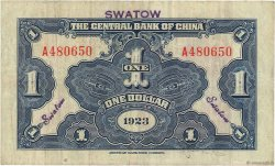 1 Dollar CHINE  1923 P.0171e TB+