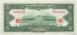 5 Dollars CHINE  1930 P.0200f pr.NEUF