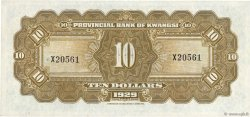 10 Dollars CHINE  1929 PS.2341 SPL