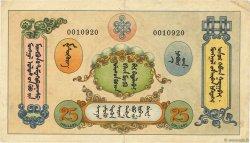 25 Dollars MONGOLIE  1924 P.06 TTB+