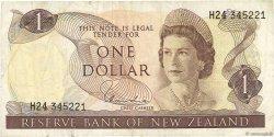 1 Dollar NOUVELLE-ZÉLANDE  1977 P.163d TTB