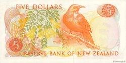 5 Dollars NOUVELLE-ZÉLANDE  1975 P.165c SPL