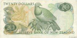 20 Dollars NOUVELLE-ZÉLANDE  1975 P.167c TTB