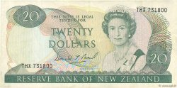 20 Dollars NOUVELLE-ZÉLANDE  1989 P.173c TTB