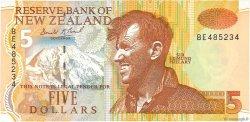 5 Dollars NOUVELLE-ZÉLANDE  1992 P.177 SUP+