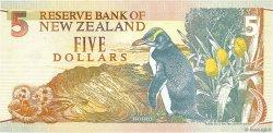 5 Dollars NOUVELLE-ZÉLANDE  1992 P.177 NEUF