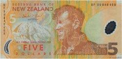 5 Dollars NOUVELLE-ZÉLANDE  1999 P.185a TTB