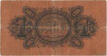 1 Dollar MALAISIE - ÉTABLISSEMENTS DES DÉTROITS  1916 P.01c TB+